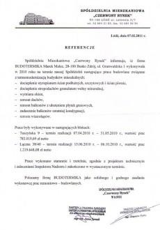 Referencje Budotermika