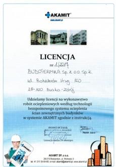 Certyfikat AKAMIT